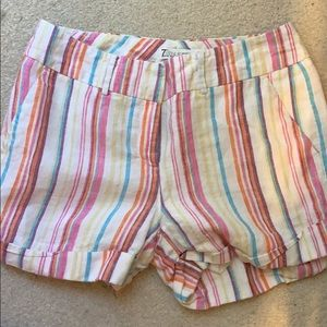 Size 6 lined shorts